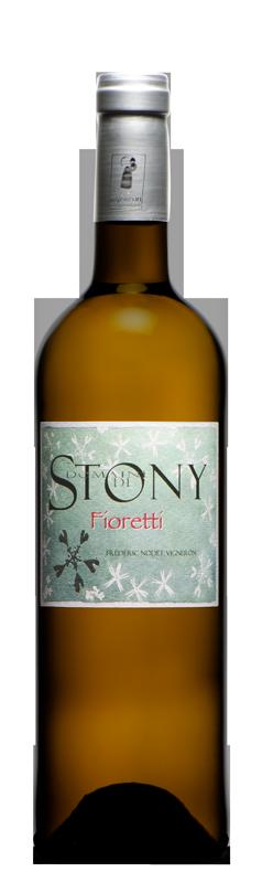 Fioretti, mélange de cinq cépages donnant un vin blanc sec bio complexe